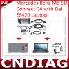 voor MB BR Connect C4 met DELL E6420 Laptop voor Benz van Mercedes