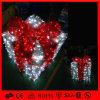 Гирлянды PVC мотива коробки подарка рождества светлой декоративные