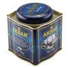 La India y el té negro té de Ceilán Metal tin box