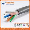 2cat5e+2RG6 Ccat + câble de transmissions combiné par CATV