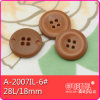 Il Nylon 4-Holes Classical Imitation Leather Button