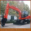 大きい容量の車輪の建設用機器のための新しい掘削機の価格