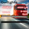 Le meilleur guide optique principal de vente de la rangée LED de lumière d'entraînement de pouce 480W LED de la lumière 36000lm 50 de voiture double