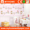 Papier coloré Papier peint pur avec des bonbons Pattern Kids