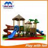 Дети прочная игрушка спортивной площадки пластмассы и металла напольная
