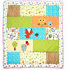 Babyのための2016年の赤ん坊Quilt Patterns Colorful Animals Design Lovely