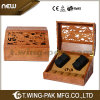 4 Watches를 위한 고아한 Solid Rosewood Watch Winder