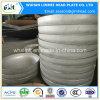ステンレス鋼の圧力容器のための皿に盛られた楕円のヘッドタンクヘッド