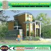 Jogos de edifício de aço pré-fabricados da roulotte modular móvel Prefab da casa