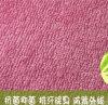 Tissu de Terry en bambou de visage simple, tricoté