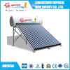No hay presión calentador de agua solar con CE