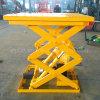 Mini table élévatrice hydraulique de ciseaux pour l'entrepôt