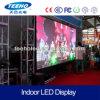 Pantalla de visualización de interior video montada en la pared de LED de la pared P5