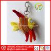 Brinquedo bonito de Keychain dos peixes do luxuoso para o presente de feriado