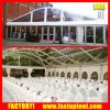 PVC transparente cúpula en forma de arco la carpa de aluminio para la boda al aire libre