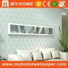 Recubrimiento de paredes de papel puro movido hacia atrás no tejido para la decoración casera
