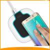 Carregador sem fio rápido de Qi da luz tocante do controle para nota 5 da borda S7/S7 de Samsung/S6 Edge+