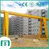 Type grue du matériel MH de construction de bâtiments de portique simple de poutre