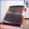 Sistema do calefator de água do poder solar com tubulação de calor