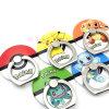 Pokemon va supporto/inarcamento dell'anello del telefono mobile con figura rotonda