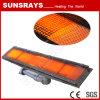 専用赤外線バーナー(GR2002)を乾燥する織物