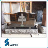 Headstones pretos populares do granito para sepulturas