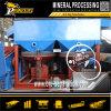 Planta de tratamiento del mineral del estaño de la máquina de la separación de la plantilla de la gravedad de la explotación minera de la casiterita
