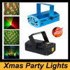 Iluminación roja clara/verde de la etapa del LED del laser de la Navidad de DJ de la Navidad