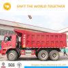 China Shacman pesado camión volquete 6X4 35 Ton Camión volquete
