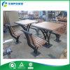 Fabricante determinado Shenzhen (FY-051HB) de la tabla del jardín del metal y de la tabla del jardín de los bancos