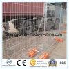 Cerca provisória da segurança residencial do evento da construção/cerco provisório