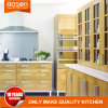 Chapa de madera de pino kitchen cabinet tomar muestras de colores