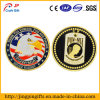 Custom Logoの旧式なPlating Metal Military Challenge Coin