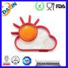 Nouveaux produits écologiques 2015 Heart Star Silicone Egg Mold