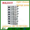 Bomba Mslis19 de la jeringuilla de la infusión de ocho canales
