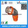 세륨을%s 가진 IP66 Three Phase 5 Round Pin Industrial Plug