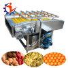 De Veiligheid van het voedsel - de Wasmachine van de Maniok met de Rollen van de Borstel