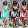 Платье пляжа горячих прокладок способа женщин сбывания скачками вскользь