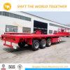 Le prix le plus inférieur de Cimc 2 ou 3 d'essieu de conteneur de remorque de remorques de camion de châssis remorque squelettique semi
