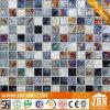 거실 벽 (L820003)를 위해 윤이 나는 유리제 모자이크 광택