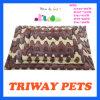 Estera coralina cómoda suave del perro del terciopelo (WY1610121-2A/E)