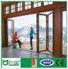 Porte de pliage en aluminium de Pnoc080321ls avec la glace Inférieure-e