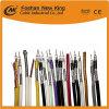 Trenzado de alta protección triple cable coaxial RG6 para CCTV/CATV