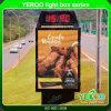 Openlucht Tweezijdige LEIDENE Lightbox Mupi die Lichte Doos adverteert