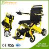 La lumière de pliage moteur sans balai de fauteuil roulant électrique