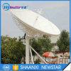 антенна дорог спутника 2 фокуса кольца связи станции земли полосы 6.2m Ku