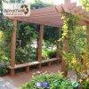 Sistema de madera material más vendido del Decking de Witj de la pérgola de WPC para al aire libre
