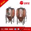 100L Tank van uitstekende kwaliteit van de Gister van het Micro- de Rode Bier van het Koper