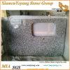 Gele Countertop van de Keuken van het Graniet van de Vlinder/Bovenkanten/Geprefabriceerd huis