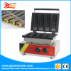 4 ПК на базе коммерческих мини вафель заполнение бумагоделательной машины для приготовления вафель